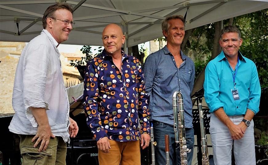 Jeroen Pek flute player European Quarte Jeroen Caunes - 21