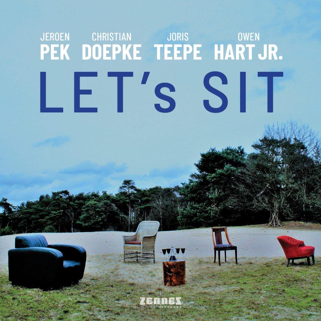 Jeroen Pek: cover Let's sit